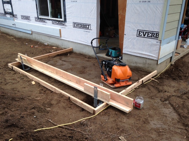 Concrete footing in Bend Oregon